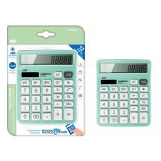 MP αριθμομηχανή PE028, ηλιακό & μπαταρίες, 12 ψηφία, πράσινη