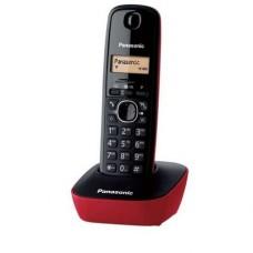 Ασύρματο Ψηφιακό Τηλέφωνο Panasonic KX-TG1611 Μαύρο-Κόκκινο