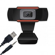 "Webcam με ""Clip"" Μαύρη"