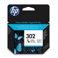 HP 302 Tri-Color