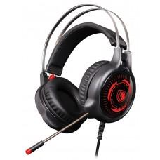 SADES Gaming Headset G50, multiplatform, 3.5mm, 50mm ακουστικά, μαύρα