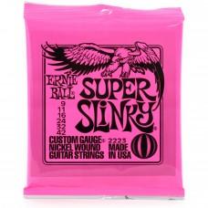 ERNIE BALL Super Slinky 0,09 2223 Χορδές Ηλεκτρικής Κιθάρας